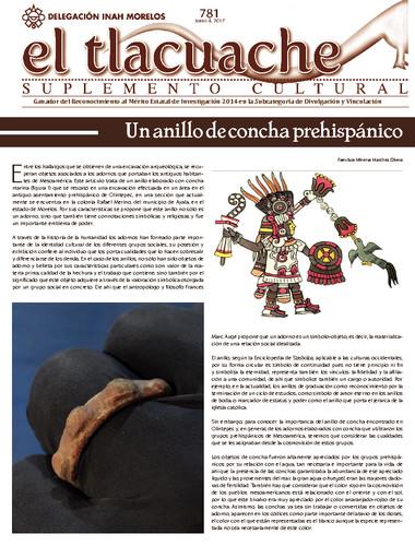 El Tlacuache Num. 781 (2017)