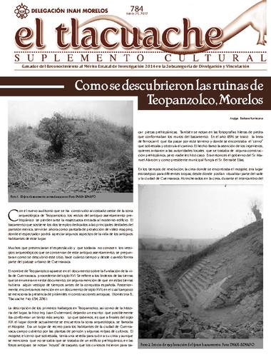El Tlacuache Num. 784 (2017)