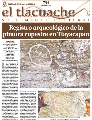 El Tlacuache Num. 794 (2017)