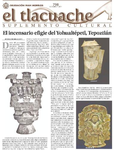 El Tlacuache Num. 798 (2017)