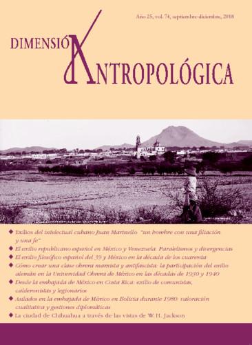 Dimensión Antropológica Vol. 74 (2018)