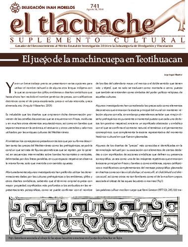 El Tlacuache Núm.. 741 (2016)