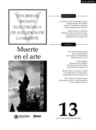 Vita Brevis Num. 13 (2018) Muerte en el arte