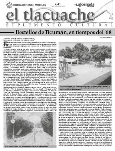 El Tlacuache Núm. 641 (2014)