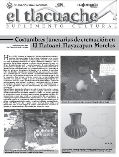 El Tlacuache Núm. 686 (2015)