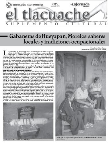 El Tlacuache Núm. 685 (2015)