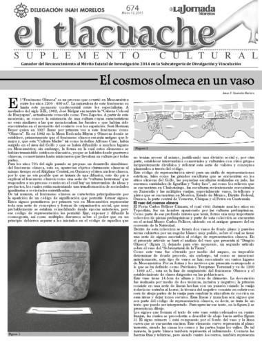 El Tlacuache Núm. 674 (2015)