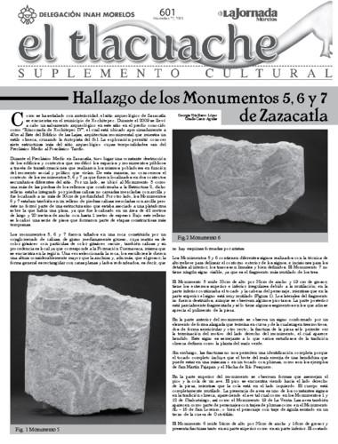 El Tlacuache Núm. 601 (2013)