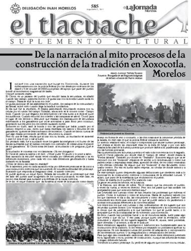 El Tlacuache Núm. 585 (2013)