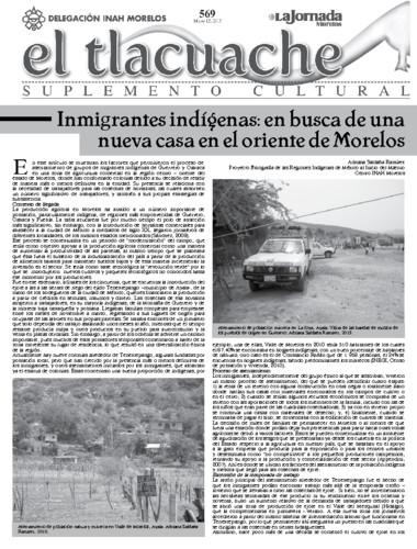 El Tlacuache Núm. 569 (2013)
