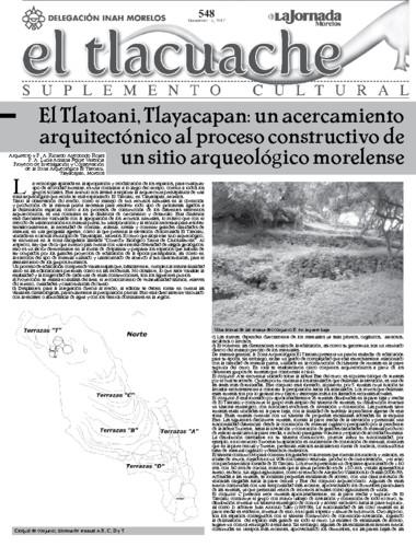 El Tlacuache Núm. 548 (2012)