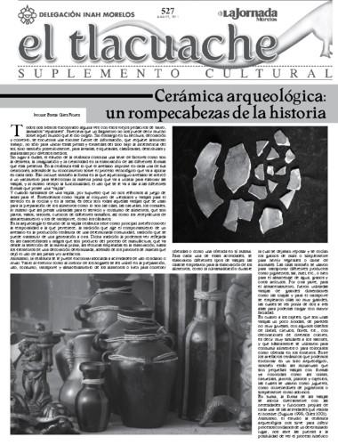 El Tlacuache Núm. 527 (2012)