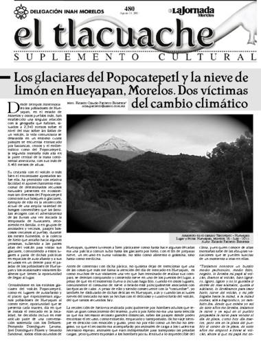 El Tlacuache Núm. 480 (2011)