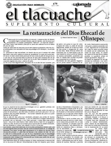 El Tlacuache Núm. 479 (2011)