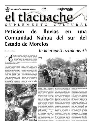 El Tlacuache Núm. 469 (2011)