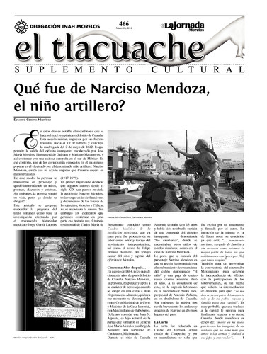 El Tlacuache Núm. 466 (2011)