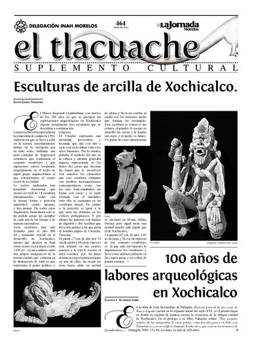 El Tlacuache Núm. 464 (2011)