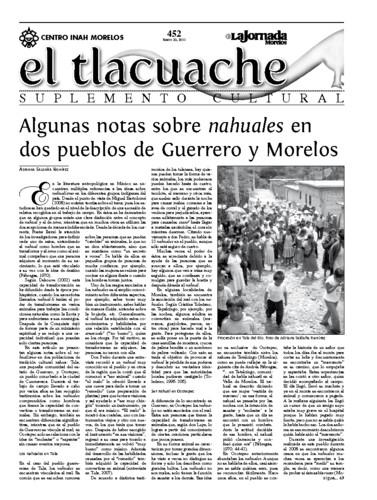 El Tlacuache Núm. 452 (2011)
