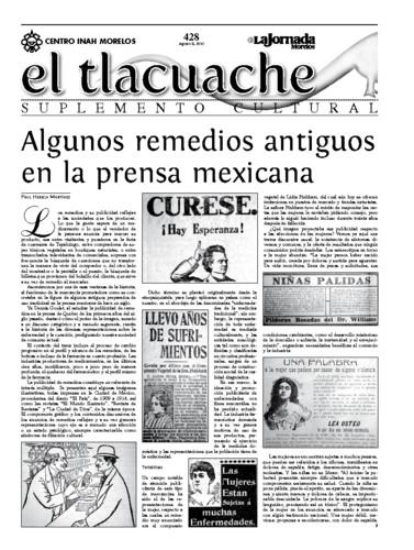 El Tlacuache Núm. 428 (2010)