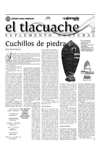 El Tlacuache Núm. 418 (2010)
