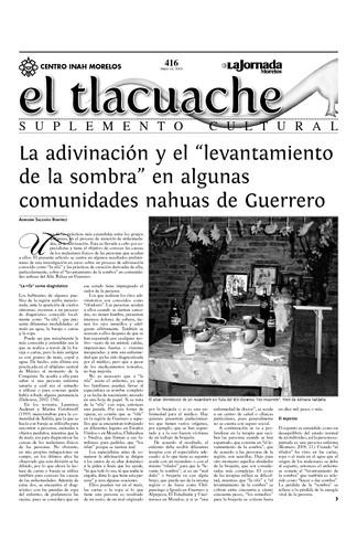 El Tlacuache Núm. 416 (2010)