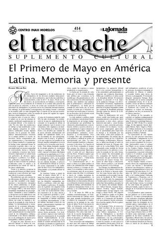 El Tlacuache Núm. 414 (2010)