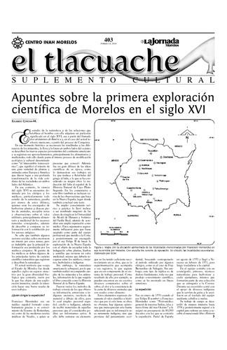 El Tlacuache Núm. 403 (2010)