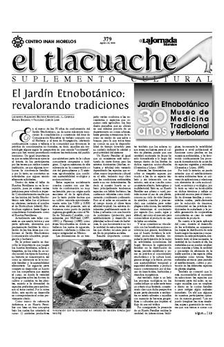 El Tlacuache Núm. 379 (2009)