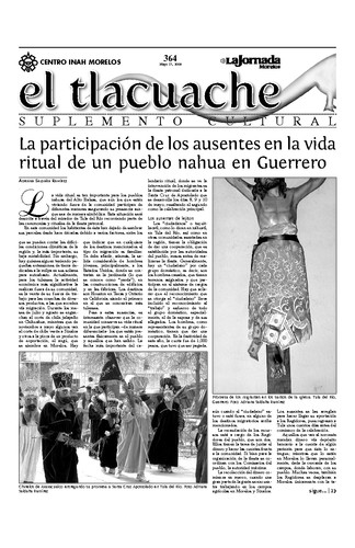 El Tlacuache Núm. 364 (2009)