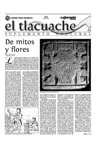 El Tlacuache Núm. 361 (2009)