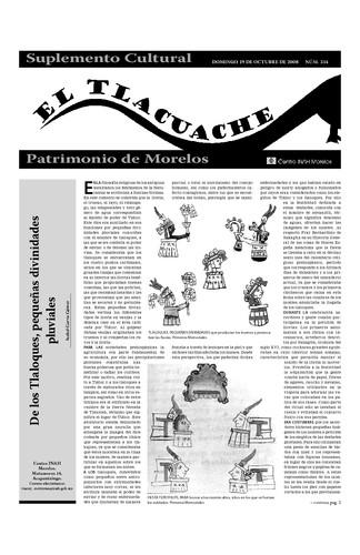 El Tlacuache Núm. 334 (2008)