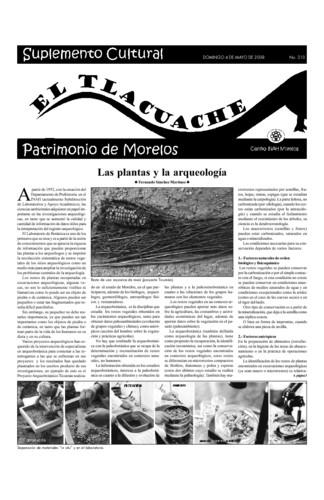 El Tlacuache Núm. 310 (2008)