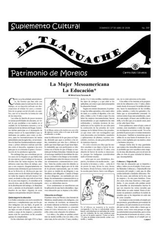 El Tlacuache Núm. 309 (2008)