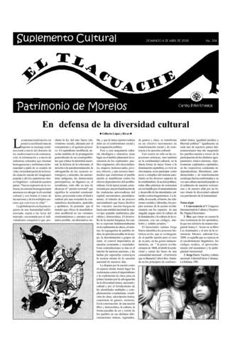 El Tlacuache Núm. 306 (2008)