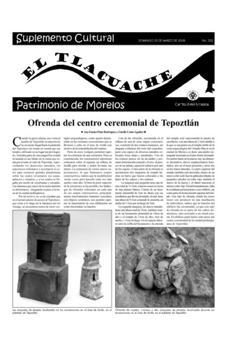 El Tlacuache Núm. 305 (2008)