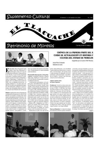 El Tlacuache Núm. 303 (2008)