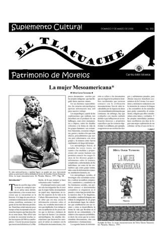 El Tlacuache Núm. 302 (2008)