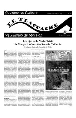 El Tlacuache Núm. 301 (2008)