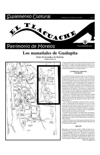 El Tlacuache Núm. 97 (2003)