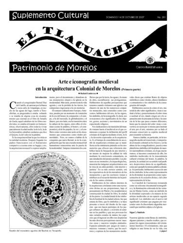 El Tlacuache Núm. 281 (2007)