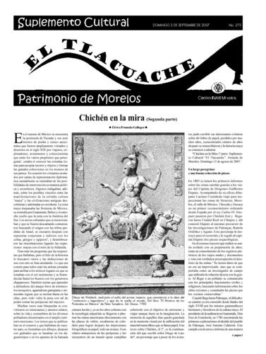 El Tlacuache Núm. 275 (2007)