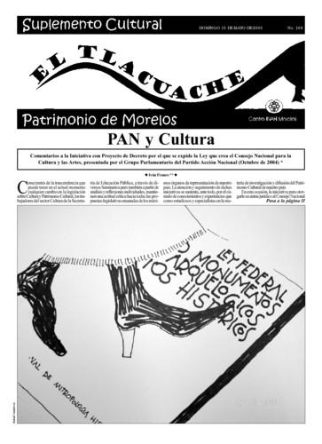 El Tlacuache Núm. 168 (2005)