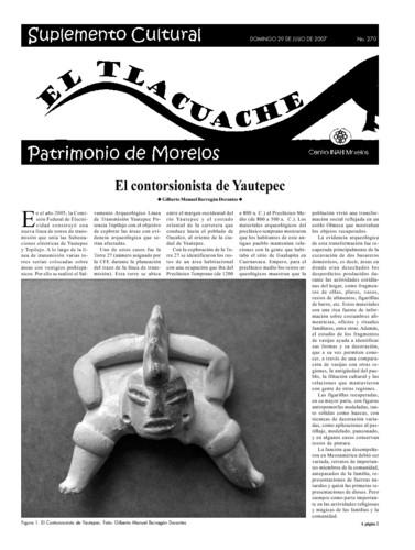 El Tlacuache Núm. 270 (2007)