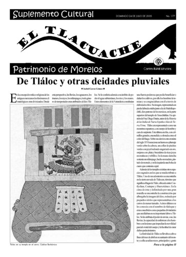 El Tlacuache Núm. 177 (2005)