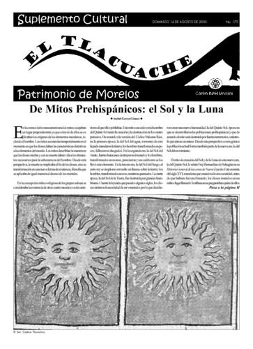 El Tlacuache Núm. 179 (2005)