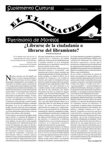 El Tlacuache Núm. 188 (2005)