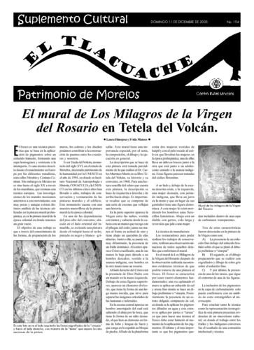 El Tlacuache Núm. 194 (2005)