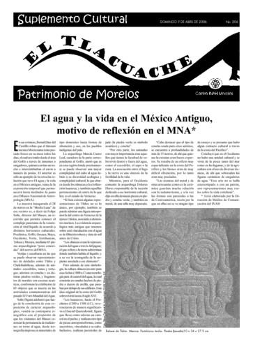 El Tlacuache Núm. 206 (2006)