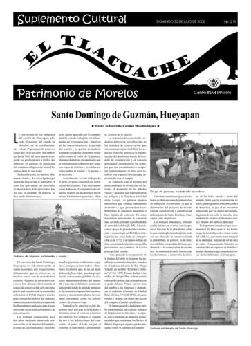 El Tlacuache Núm. 219 (2006)