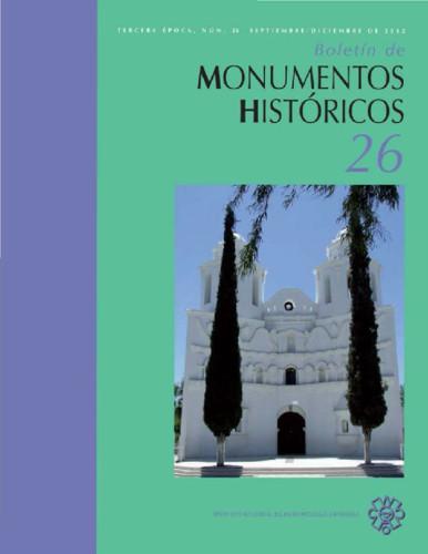 Boletín de Monumentos Históricos Núm. 26 (2012) (Tercera Época)